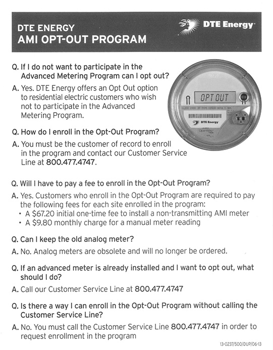Smart Meter Opt Out Letter.Smart Meter Education Network What To Do When The