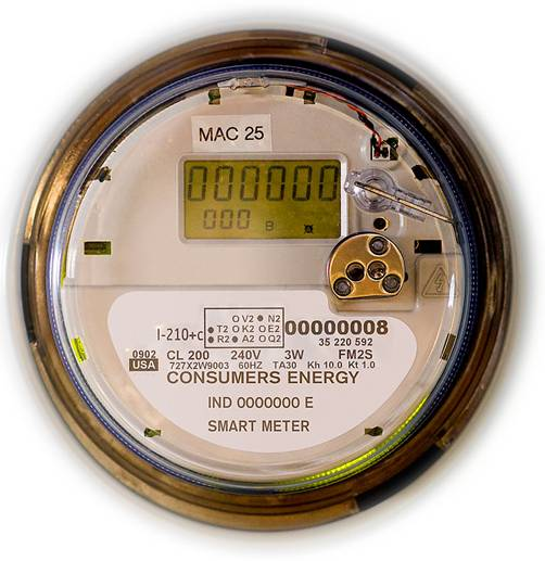 Consumers, Energy, Smart, Meter, MAC
