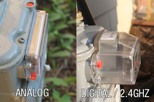 analog, digital, gas, meter, difference between, zigbee, comparison